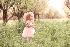 Free Baby Girl Outdoors Stock Photography - 145749902