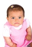 Baby girl portrait 2 Royalty Free Stock Images