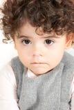Baby girl portrait Stock Image