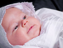 Baby Girl Portrait royalty free stock images