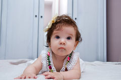 Baby girl portrait Royalty Free Stock Photography