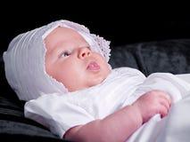 Baby Girl Portrait Stock Photo