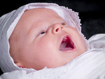 Baby Girl Portrait Royalty Free Stock Photo