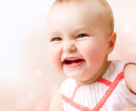 Baby Girl Portrait Stock Photography