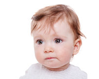 Baby girl portrait stock images