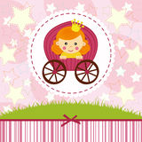 Baby girl princess Royalty Free Stock Photography