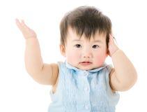 Baby girl refuse to listen Stock Photos