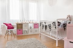 Baby girl room Royalty Free Stock Photography