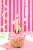 Baby girl's birthday Royalty Free Stock Photos