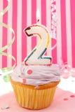 Baby girl's birthday Stock Photography
