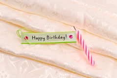 Baby Girl's First Birthday Royalty Free Stock Images