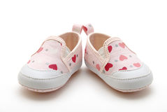 Baby Girl's Shoes Stock Photography