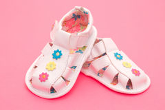 Baby girl sandals Stock Photo