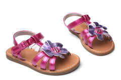Baby girl sandals Royalty Free Stock Photography