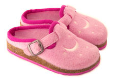 Baby girl shoes Royalty Free Stock Photos
