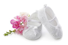 Free Baby Girl Shoes Stock Image - 18003661