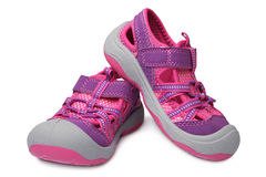 Baby girl shoes Royalty Free Stock Image