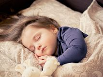 Baby, Girl, Sleep, Child, Toddler Stock Photo