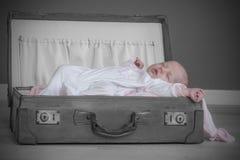 Baby girl sleeping Royalty Free Stock Images
