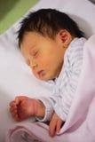 Baby girl sleeping Stock Photography
