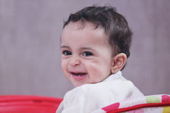Baby girl smile Stock Photography