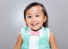 Baby girl smile Royalty Free Stock Photos