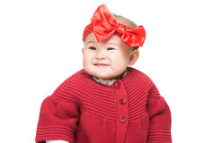 Baby girl smile Stock Images