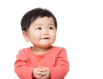 Baby girl smile Stock Image