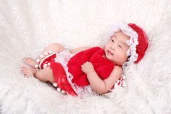 Baby Girl in smiling Royalty Free Stock Images