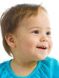 Baby Girl Smiling Royalty Free Stock Photography