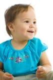 Baby Girl Smiling Stock Image