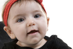 Baby Girl Smiling Royalty Free Stock Photo