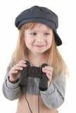Baby girl - tourist Stock Image