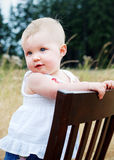 Baby Girl - Vertical Stock Images