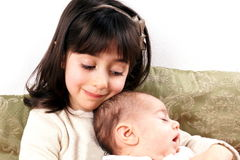 Baby Girls Royalty Free Stock Images
