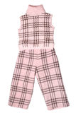 Baby girls trousers and sleeveless pullover Royalty Free Stock Image