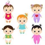 Baby girls Stock Photography