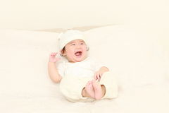 Baby in a good mood Royalty Free Stock Photography