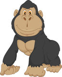 Baby gorilla cartoon Royalty Free Stock Images