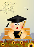 Baby graduate Stock Images