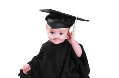 Baby Graduation Royalty Free Stock Photography