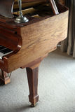 Baby grand piano Royalty Free Stock Photo