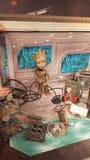 Baby groot disney america marvel hollywood studios. Theme park hollywoodd studios disney theme parks florida orlando marvel  groot guardians of the galaxy Stock Photo