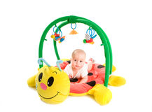 Free Baby Gym Isolated Stock Image - 10645441
