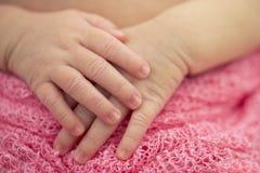 Baby-Hände Stockbilder