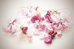 Baby hair clips Stock Images