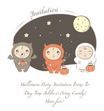 Baby halloween Royalty Free Stock Images