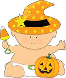 Baby Halloween Stock Photography