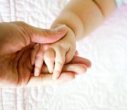 Baby hand Stock Image