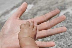 Baby hand royalty free stock photos